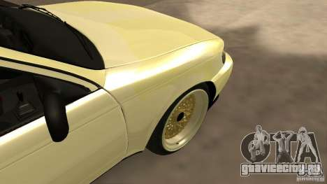 Toyota Corolla Tuned для GTA San Andreas вид сзади