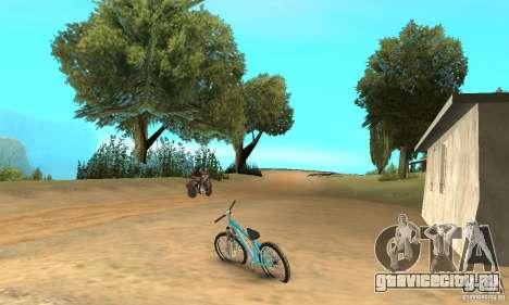 Dirt Jump Bike для GTA San Andreas вид справа