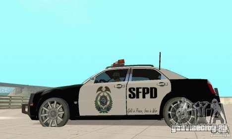 Chrysler 300C Police v2.0 для GTA San Andreas вид слева
