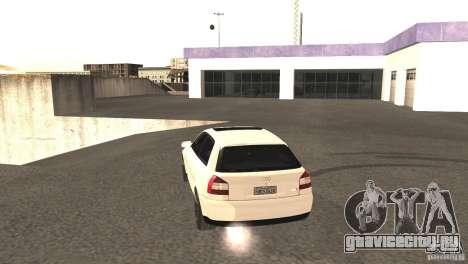 Audi A3 1.8T 180cv для GTA San Andreas вид сзади