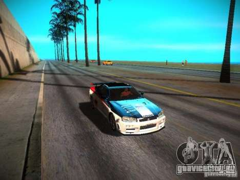 ENBSeries By Avi VlaD1k для GTA San Andreas пятый скриншот