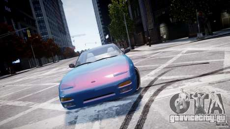 Nissan 240sx v1.0 для GTA 4 вид слева