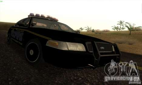 Ford Crown Victoria Alaska Police для GTA San Andreas