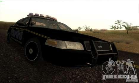 Ford Crown Victoria Alaska Police для GTA San Andreas