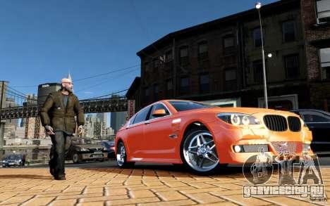 Меню и экраны загрузки BMW HAMANN в GTA 4 для GTA San Andreas седьмой скриншот