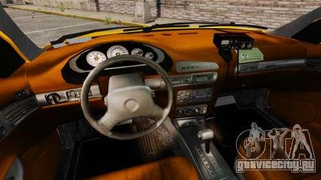 Dodge Intrepid 1993 Taxi для GTA 4 вид сзади