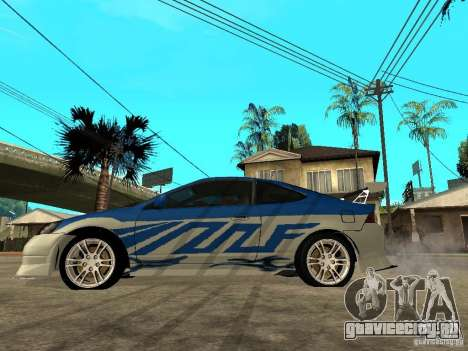 Acura RSX Shark Speed для GTA San Andreas вид слева