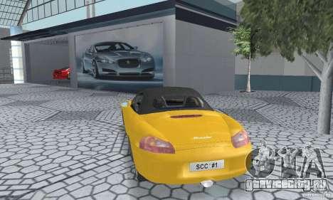 Porsche Boxster для GTA San Andreas вид слева