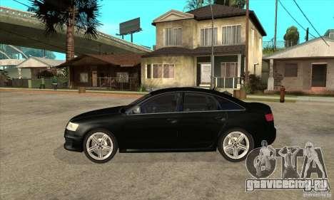 Audi RS6 2010 для GTA San Andreas вид слева
