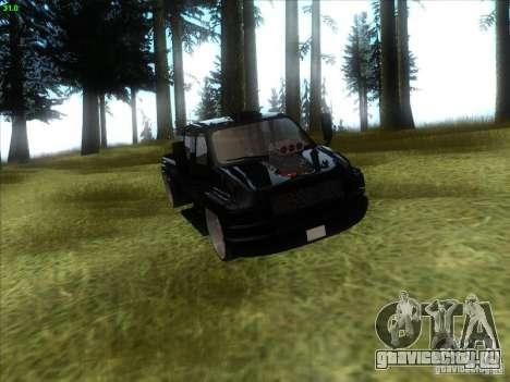 GMC C4500 Pickup DUB Style для GTA San Andreas вид изнутри