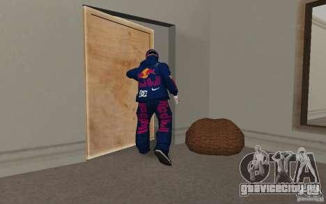 Red Bull Clothes v2.0 для GTA San Andreas шестой скриншот