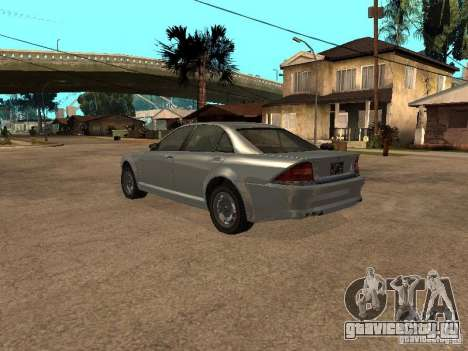 Schafter из Gta 4 для GTA San Andreas вид слева