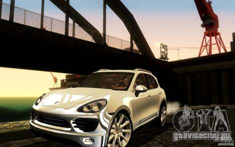 Porsche Cayenne 958 2010 V1.0 для GTA San Andreas вид снизу