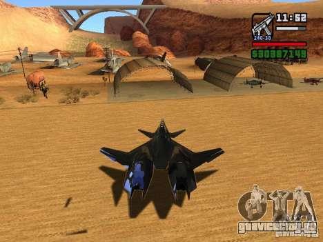 ADF01 Falken для GTA San Andreas вид справа