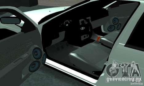 Lada Priora Sport для GTA San Andreas вид справа