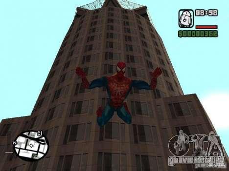 Spider Man From Movie для GTA San Andreas