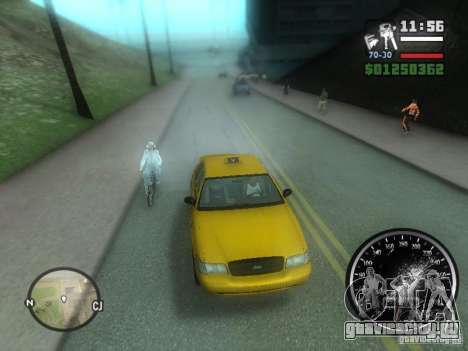 Гололёд для GTA San Andreas
