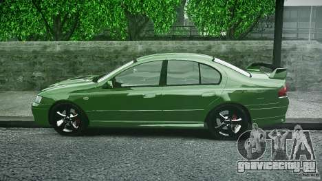 Ford Falcon XR8 2007 Rim 1 для GTA 4 вид изнутри