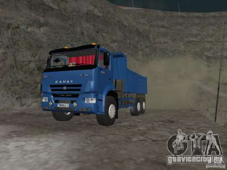 КАМАЗ 65222 для GTA San Andreas вид слева