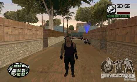 Гробовщик из Smackdown 2 для GTA San Andreas третий скриншот