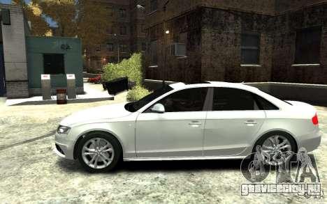 Audi S4 2010 v.1.0 для GTA 4 вид слева