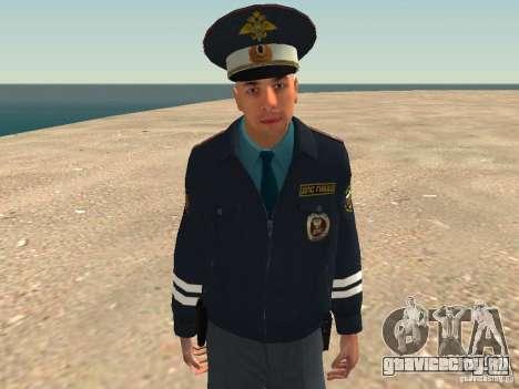 Майор ДПС для GTA San Andreas восьмой скриншот