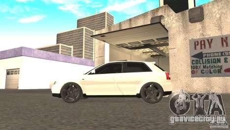 Audi A3 1.8T 180cv для GTA San Andreas вид справа
