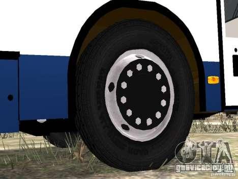 НефАЗ 5299-10-15 для GTA 4 колёса