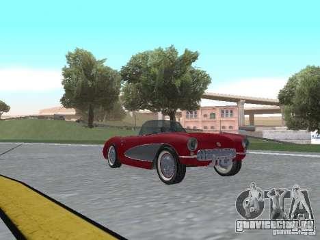 Chevrolet Corvette C1 для GTA San Andreas вид слева