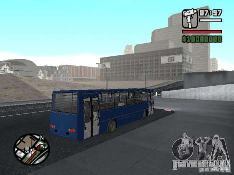 Ikarus 260.51 для GTA San Andreas вид справа