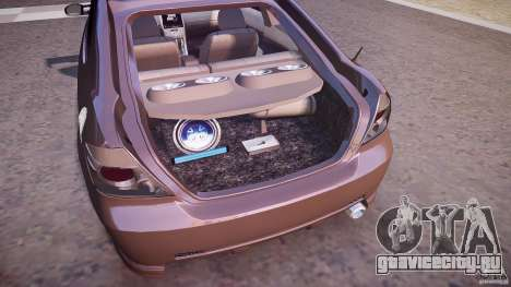 Toyota Scion TC 2.4 Tuning Edition для GTA 4 вид снизу