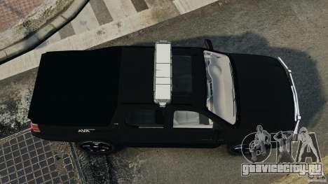 Chevrolet Avalanche 2007 [ELS] для GTA 4 вид справа
