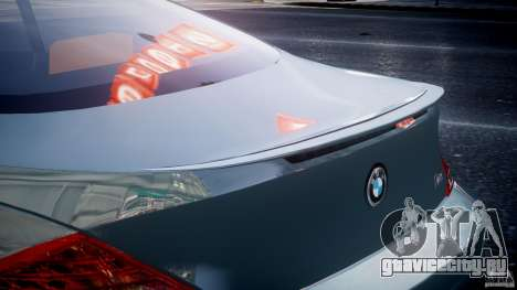 BMW M6 G-Power Hurricane для GTA 4 салон