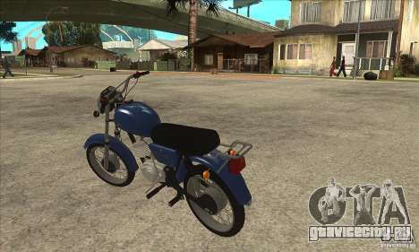 Minsk v2.0 для GTA San Andreas вид сзади слева