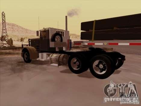 Peterbilt 351 для GTA San Andreas вид справа