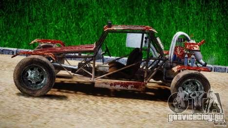 Buggy Avenger v1.2 для GTA 4 вид слева
