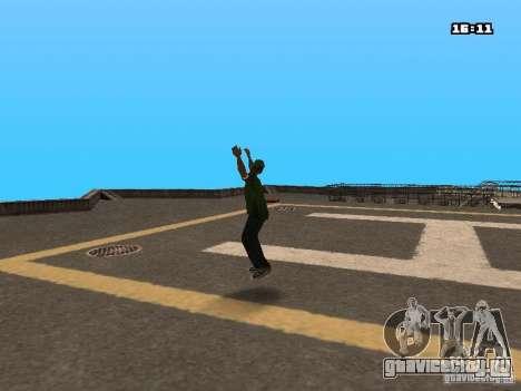 Паркур Мод для GTA San Andreas второй скриншот