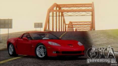 SA Beautiful Realistic Graphics 1.7 BETA для GTA San Andreas четвёртый скриншот