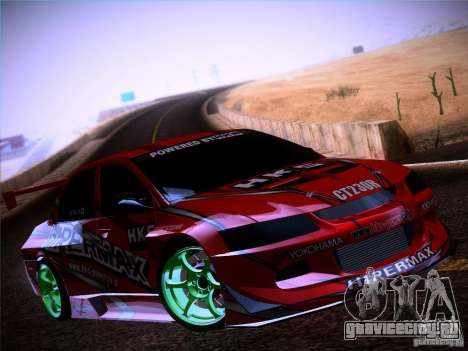 Mitsubishi Lancer Evolution 9 Hypermax для GTA San Andreas