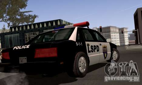 New Police LS для GTA San Andreas