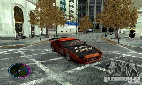 Mazda RX-7 FC for Drag для GTA San Andreas вид сбоку