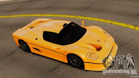 Ferrari F50 GT 1996 для GTA 4 вид справа