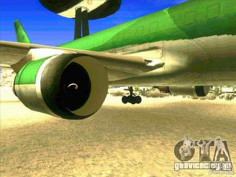 Boeing E-767 для GTA San Andreas вид сзади