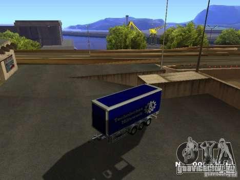 Прицеп для Iveco Stralis для GTA San Andreas