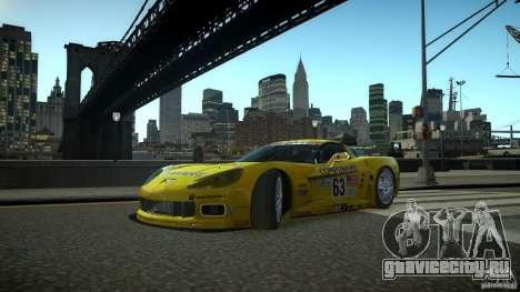 Chevrolet Corvette C6-R v2.0 для GTA 4