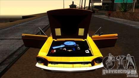 Shelby GT500KR для GTA San Andreas вид сбоку
