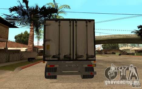 Трейлер Магнит для GTA San Andreas вид сзади слева