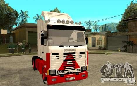 Scania 143M 450 V8 для GTA San Andreas вид сзади