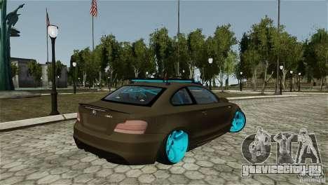 BMW 135i HellaFush для GTA 4 вид слева