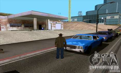 ENB Series v1.4 Realistic for sa-mp для GTA San Andreas десятый скриншот